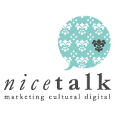 Nice talk | Asesoría en comunicación digital especializada en el sector cultural | Marketing digital cultural Retina Logo